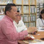 NPOカフェまんまるシリーズ「ながのまちづくり座談会」年4回 の第1弾を箱山さんを迎え開催しました。