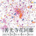ながの花フェスタ2017  第16回善光寺花回廊 ボランティアスタッフ・花キャンバス募集